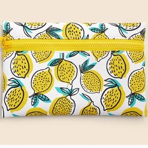 🍋 Lemon Ipsy Makeup Bag